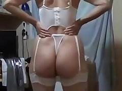 Awesome big pain in the neck amateur wife