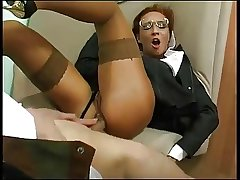 Attired in b be committed to Business Mature Fucked In Burnish apply Bore