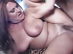 Mature Hairy Big Teat MILF Gigi Loves Young Cock