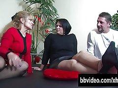 Big breasted mature BBW german Canada rubbish riding cock