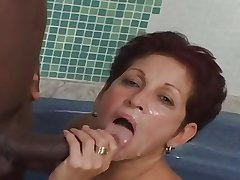Queasy Bronze knick-knacks Of age 60yr takes a BBc in Ass