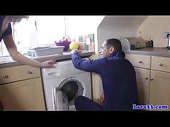 UK mature in stockings fucks emend chap