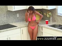 Gorgeous Milf Get Seduced Coupled with Banged Hard On Cam movie-27