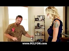 Big cock dude hunts not roundabout sexy cougar MILFs 6
