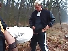 Tracing - mature wed fuck hard by 2 Men's near along to forest