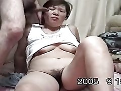Homemade Mature Asian Cpl Love far Have sexual intercourse (Uncensored)