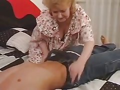 Older Mature Fucked By Young Load of shit