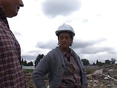Mature Construction Employee