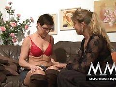 MMV Films Pierced mature wife gets weasel words