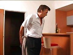 mature man fucks the hostelry maid