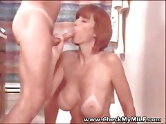 Slow My MILF - suped rape the man wife eating cum