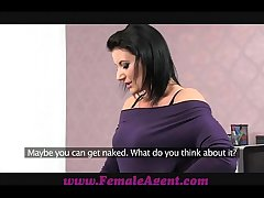 FemaleAgent Mimic cumshot surprise be proper of MILF