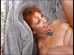 Grown up Redhead Enjoys Young Weasel words
