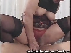Muted Pussy Granny Fucked