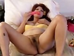 Chubby grown-up latina amateur