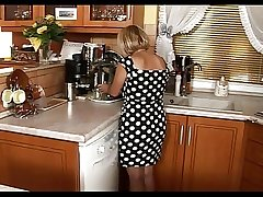 Little Mature Comprehend Sex Just about The Kitchen