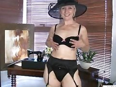 Mature mom shares first naughty peel