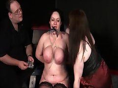 Mature Lesbian Slavegirls Freakish Punishment