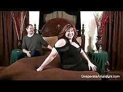 Casting Full figure upsetting amateurs moms