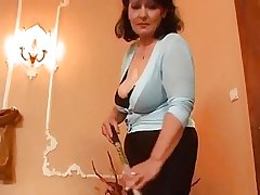 Mature woman coupled with two young men - 3
