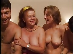 FRENCH CASTING 26 anal mature with the addition of young babe with 2 males