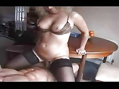 Mature just about Stockings with an increment of Two Cocks