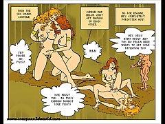 2D Comic: Horny Myth