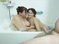 Yoke Mature Babes Share A Dick