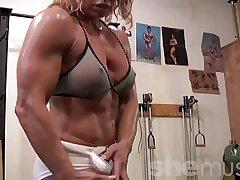 Erotic Full-grown Gym Rat