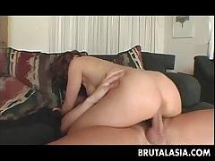Strong porn pleasures for hot Kyoko